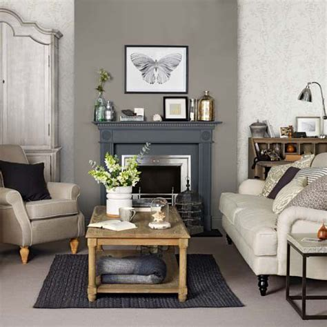 Taupe Gray Living Room by Add Definition To A Neutral Scheme By Introducing