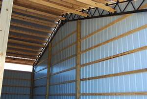 Open Shelter and Fully Enclosed Metal Pole Barns Smith-Built