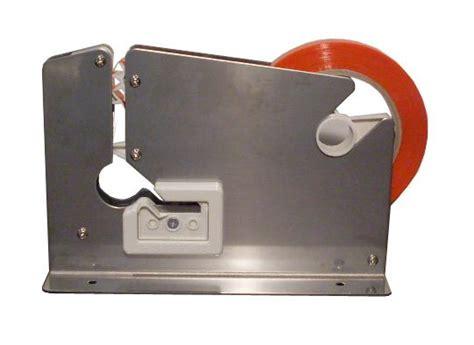 bag sealer tape mm red