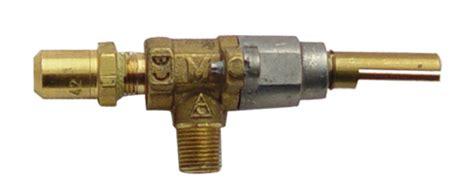 replacing top burner gas valves   commercial range