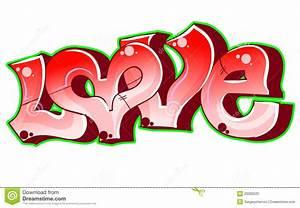 Graffiti Urban Art. Love Stock Photo - Image: 23080520