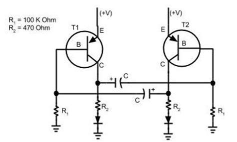 Simple Blinking Led Circuit Steps With Pictures