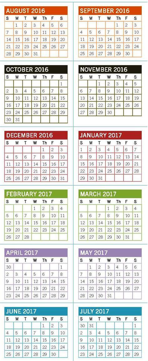 uncc calendar  january