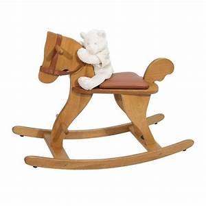 Cheval En Bois à Bascule : cheval bascule moulin roty bleu griotte ~ Teatrodelosmanantiales.com Idées de Décoration