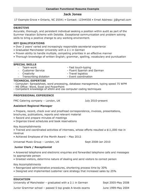 resume template canada fee schedule template
