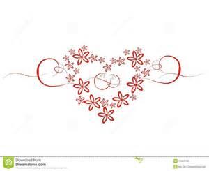 image mariage coeur de mariage avec des fleurs photo stock image 10462780
