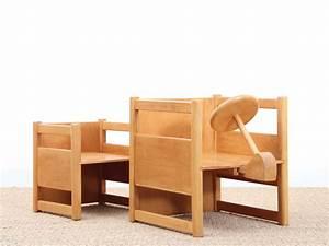 Table Scandinave Enfant : ensemble scandinave multifonctionnel table et chaises pour enfant 1937 design market ~ Teatrodelosmanantiales.com Idées de Décoration