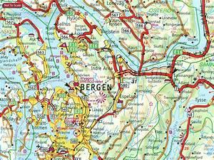 Norway: Cappelen Regional Road Maps Stanfords