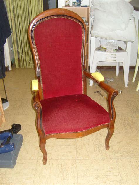 r 233 fection d un fauteuil voltaire cr 233 loane