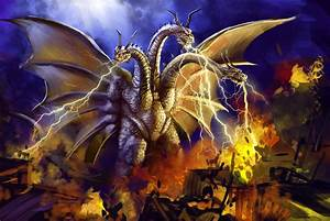 13 Nights 2012 King Ghidorah by Grimbro on DeviantArt