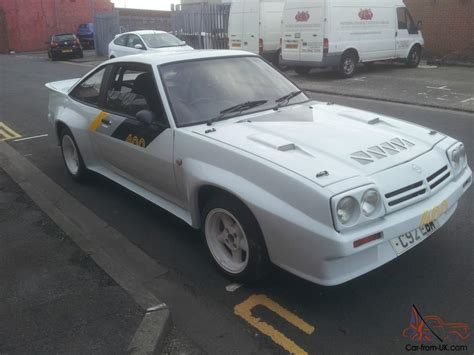 Opel Manta For Sale by Opel Manta 400 R Fast Road Track Car For Sale