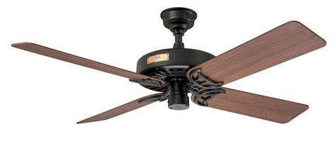 hunter 23838 original 52 inch ceiling fan in black with 5