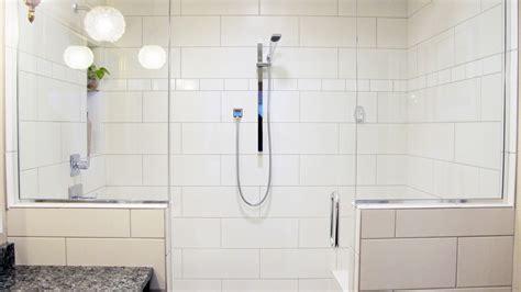 walk in bathroom shower designs white