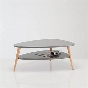 Table Basse Retro : table basse vintage double plateau jimi la redoute interieurs ~ Teatrodelosmanantiales.com Idées de Décoration