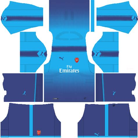 512x512 Arsenal Kits 2016-2017 URL for Dream League Soccer