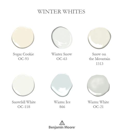 paint color winter white 17 best images about benjamin colors on