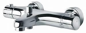 Mitigeur Thermostatique Monotrou Pour Baignoire : mitigeur thermostatique bain douche premiatherm ~ Edinachiropracticcenter.com Idées de Décoration