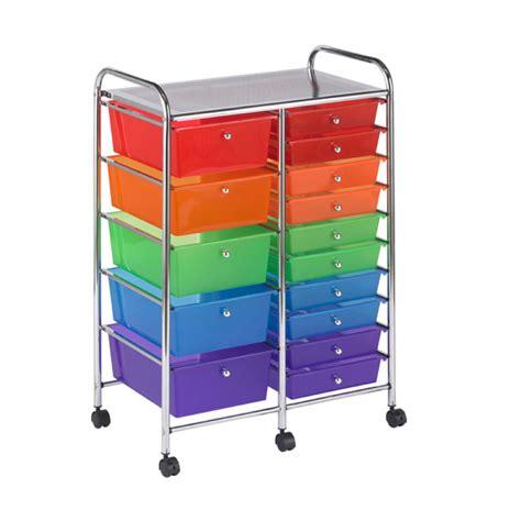 drawer organizer cart buy mobile storage cart 15 drawer multi os1