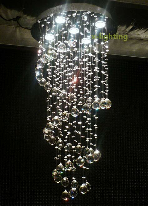 drop chandeliers modern pendant l ceiling light spiral lighting