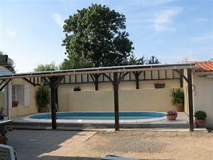 Fabriquer Un Abri De Piscine : abri piscine mc timonier fabrication de charpente en kit ~ Zukunftsfamilie.com Idées de Décoration