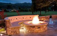 nice patio design ideas with fire pit DIY Inspiring Fire Pit Designs