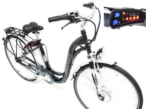 Neu Prophete Elektro Fahrrad E Bike 26 Zoll Led 36 Volt 8 Nabe Pedelec Ebay
