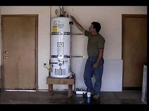 water heater in garage code don collins installing a water heater in a garage