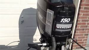 Starting A 1986 Mercury Black Max Outboard 150hp - 1979 Checkmate Exciter - 1031ent