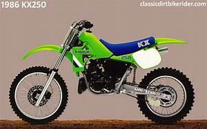 Kawasaki Kx250 1980