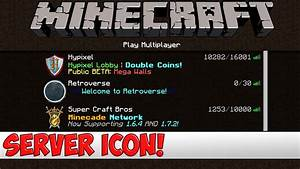 Minecraft Server Tutorial - How to get a Server Icon for ...