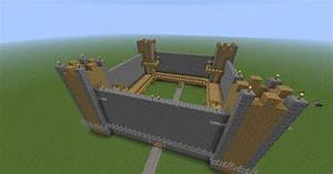 Simple castle (good for SMP) Minecraft Project