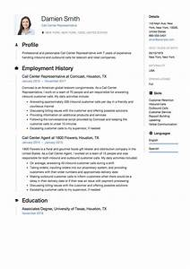 Resume Writing Templates Free Call Center Resume Guide With Images Resume Guide