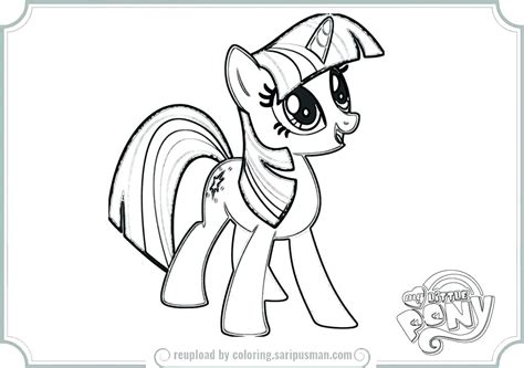 My Little Pony Coloring Pages Pdf - Eskayalitim