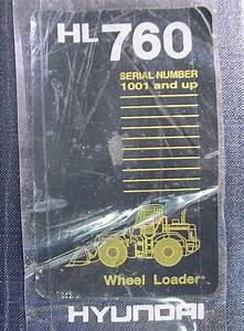Hyundai Service Manual Hl760 Wheel Loader  Hyundai