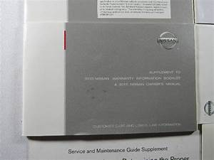 2010 Nissan Altima Owners Manual Book