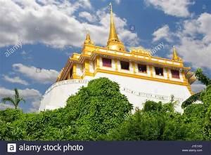 Chedi Temple Golden Mount Bangkok Stock Photos & Chedi ...