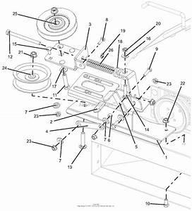 Ariens 815043  000101  52 U0026quot  Bagger Parts Diagram For