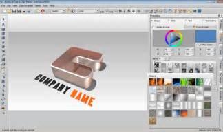 grafik design programm 3d text logo maker freeware de