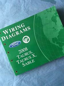 2008 Ford Taurus Electrical Wiring Diagram Manual Se Sel 3