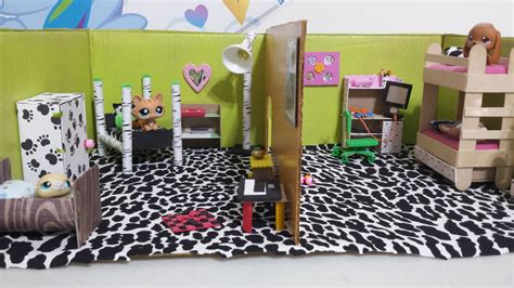 how to lps dollhouse bedrooms doll diy