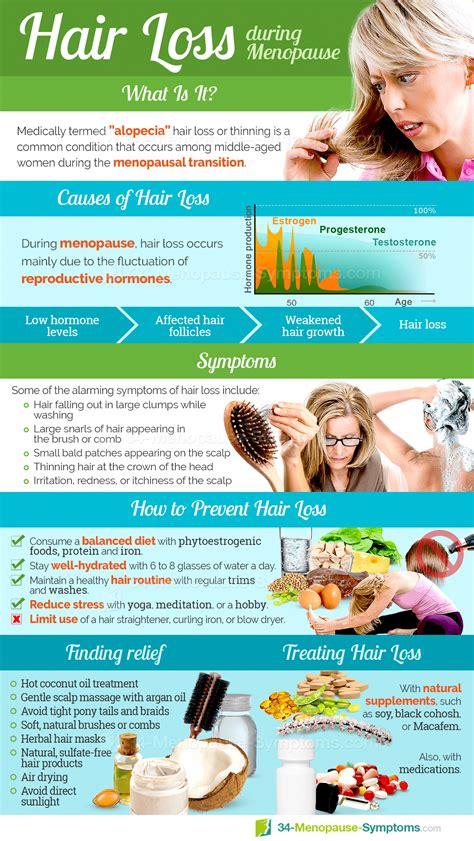 #Hair #loss is a common symptom in menopausal women ...