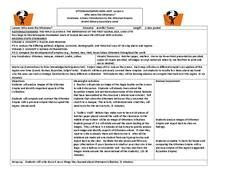 Who Were The Ottomans by Byzantine Empire Lesson Plans Worksheets Lesson Planet