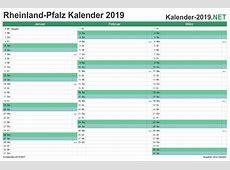 Kalender 2019 RheinlandPfalz