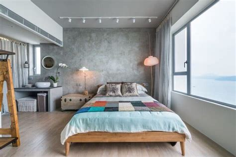 comfortable bedrooms   interesting accent wall