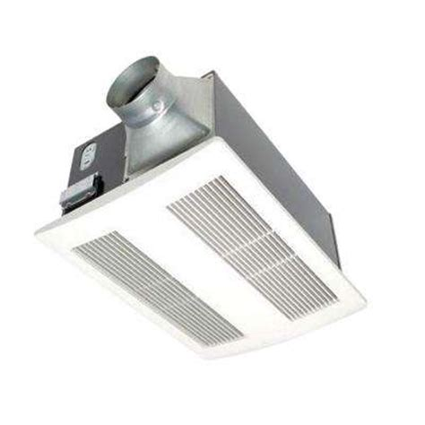 Panasonic Bathroom Exhaust Fans With Light And Heater by Bath Fans Bathroom Exhaust Fans The Home Depot