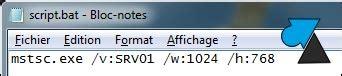 commande bureau a distance script de connexion bureau 224 distance mstsc windows facile windowsfacile fr