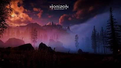Horizon Dawn Zero Wallpapers Desktop Background Backgrounds