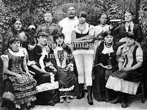 Vintage Brothel girls Bordello staff, Madam Wild West