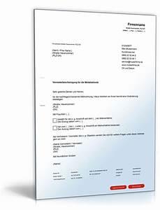 Einverständniserklärung Mieterhöhung : vermieterbescheinigung f r das einwohnermeldeamt de musterbrief download ~ Themetempest.com Abrechnung