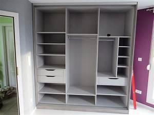 Panier Coulissant Dressing : penderie mr bricolage panier coulissant gris h x l x p cm ~ Premium-room.com Idées de Décoration